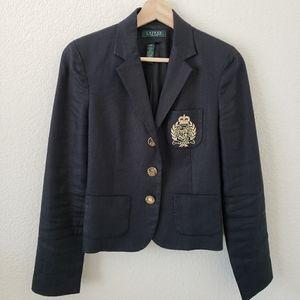 Cropped Ralph Lauren blazer